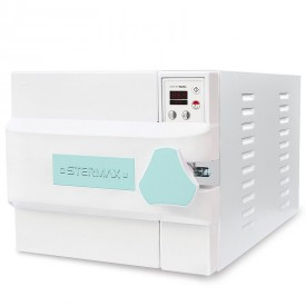 autoclave horizontal digital automatica box extra cap 21 litros verde 110 volts