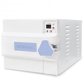 autoclave horizontal digital automatica box extra cap 21 litros azul 220 volts