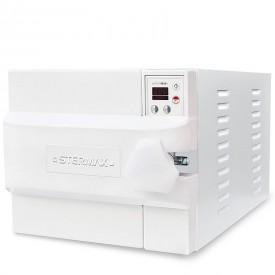 autoclave horizontal digital automatica box extra cap 21 litros branca 110 volts