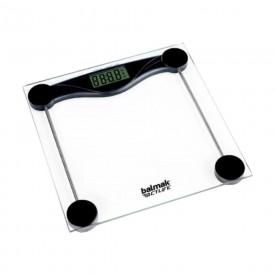10448 balanca pessoal digital de vidro slimbasic 200 cap 200 kg balmak