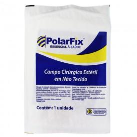 10706 10707 10716 campo cirurgico esteril em nao tecido tnt com fenestra polar fix 100 x 100 cm