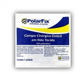 10709 10711 campo cirurgico esteril em nao tecido tnt com fenestra polar fix 50 x 50 cm