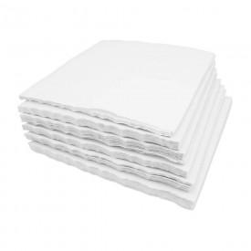 12288 papel crepado branco cx c 500 folhas polar fix 30 x 30 cm