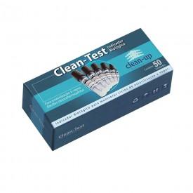 13122 teste indicador biologico p autoclave vapor clean up caixa c 50