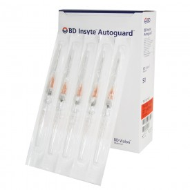 10810 cateter intravenoso c dispositivo de seguranca cx c 50 und bd insyte autoguard 14g laranja