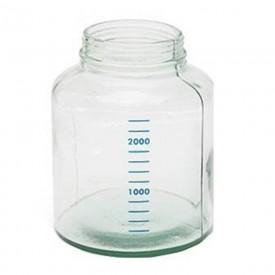 11845 frasco de vidro para conjunto de aspiracao boiao unitec 3 litros