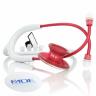 14234 estetoscopio adulto duplo em aliminio mdf instruments acoustica 747xp vermelho e branco