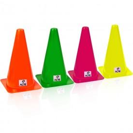 14280 kit de cones p treinamento de agilidade 24 cm c 10 und acte
