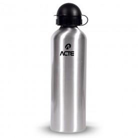 14347 garrafa squeeze em aluminio capacidade 750 ml acte prata