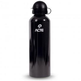 14348 garrafa squeeze em aluminio capacidade 750 ml acte preto